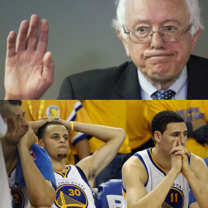 bernie sanders stephen curry steph loss golden state warriors