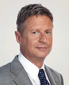 gary johnson religion hobbies political views