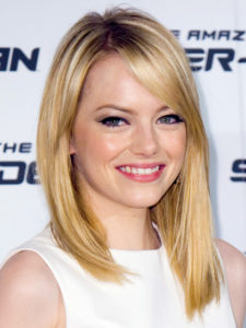 emma stone natural hair color superbad