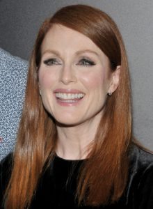 julianne moore religion hobbies political views