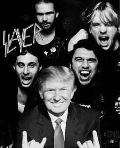 Slayer Donald Trump photo