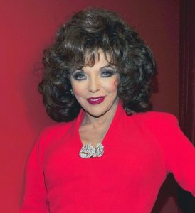 Joan Collins her religion politics husbands and beliefs
